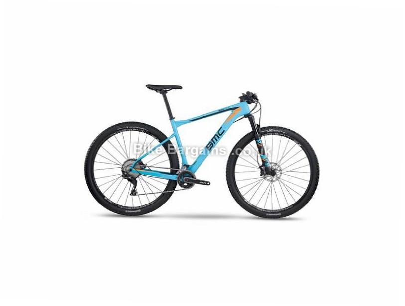 """BMC Teamelite TE02 SLX 29"""" Carbon Hardtail Mountain Bike 2017 XL, Blue, Carbon"""