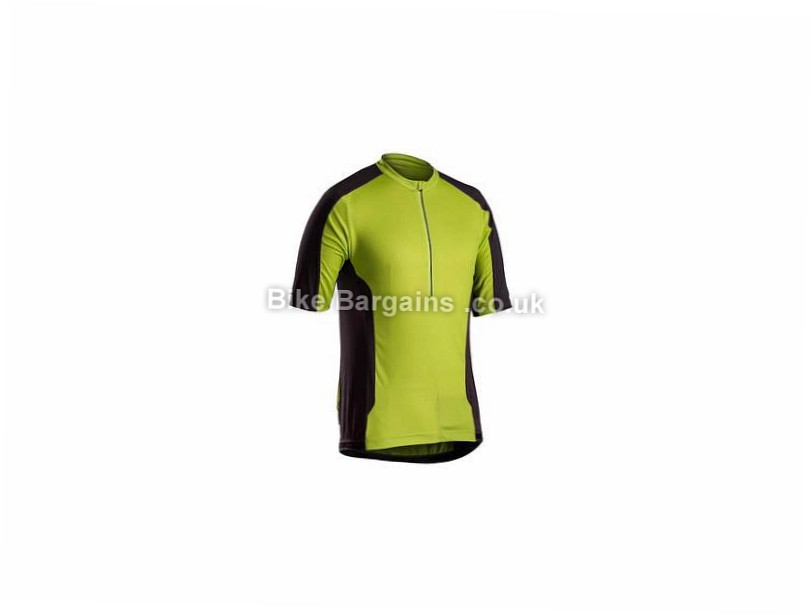 Bontrager Foray MTB Short Sleeve Jersey S, Black