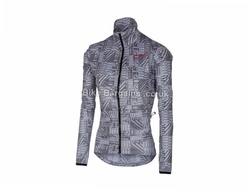 Castelli Ladies Bellissima Jacket XL, Grey