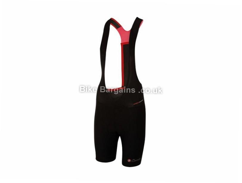 Castelli Ladies Mondiale Bibshorts L, Black