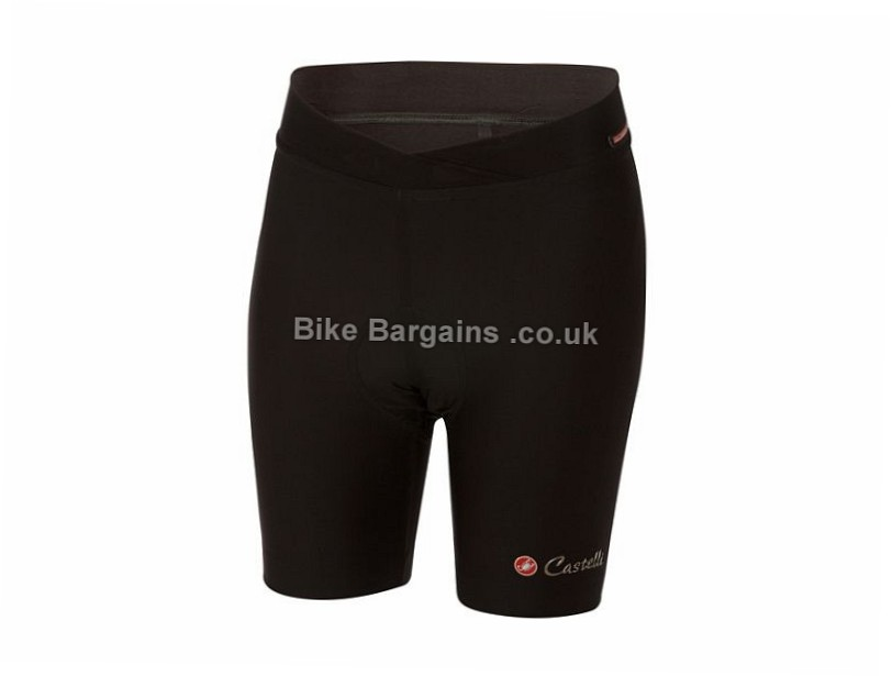Castelli Ladies Mondiale Shorts M, L, Black