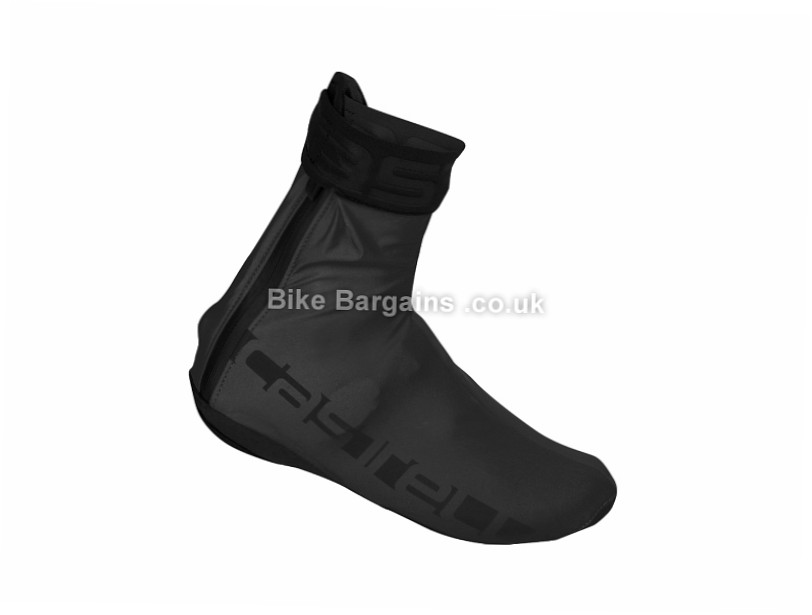 Castelli Reflex Cycling Overshoe Black, Silver, M,L