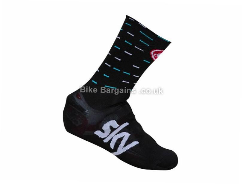 Castelli Team Sky Belgian Bootie Overshoes S,M, Black