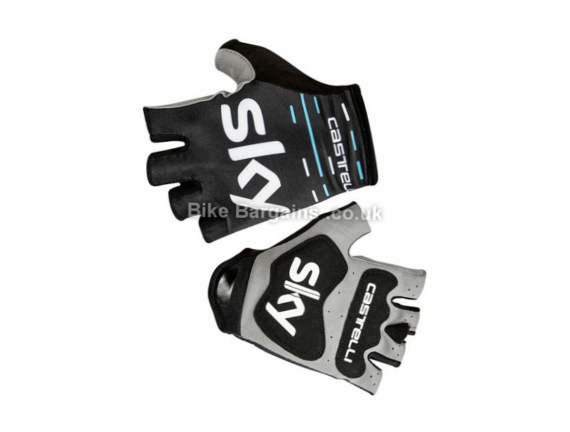 Castelli Team Sky Roubaix Gloves S, Black