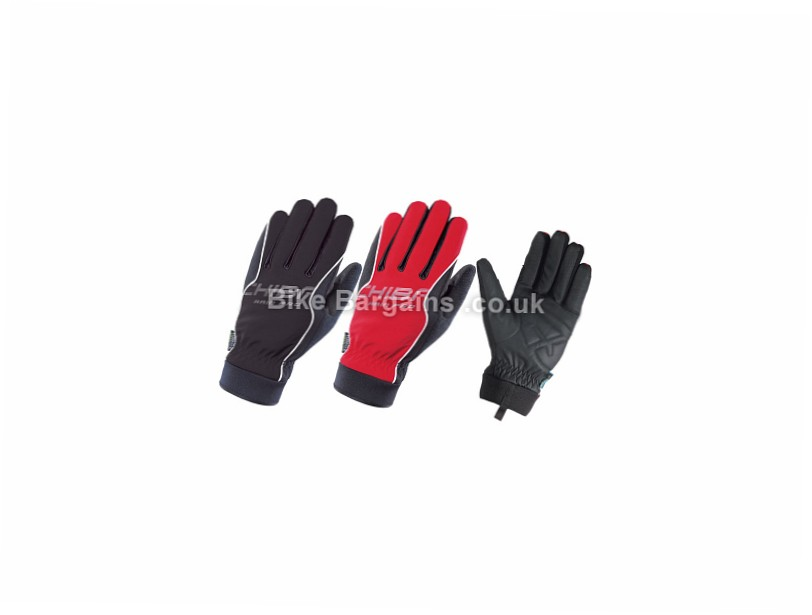 Chiba Rain Pro Waterproof Winter Cycling Gloves Black, Red, XL, XXL
