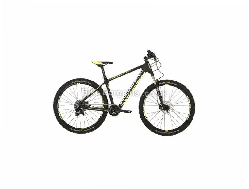"Diamondback Lumis 2.0 1x11sp 27.5"" Carbon Hardtail Mountain Bike 2017 17"", black, yellow, blue"