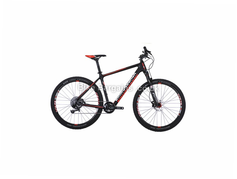 "Diamondback Lumis 3.0 1x11sp Carbon Hardtail Mountain Bike 2017 17"", black, red"
