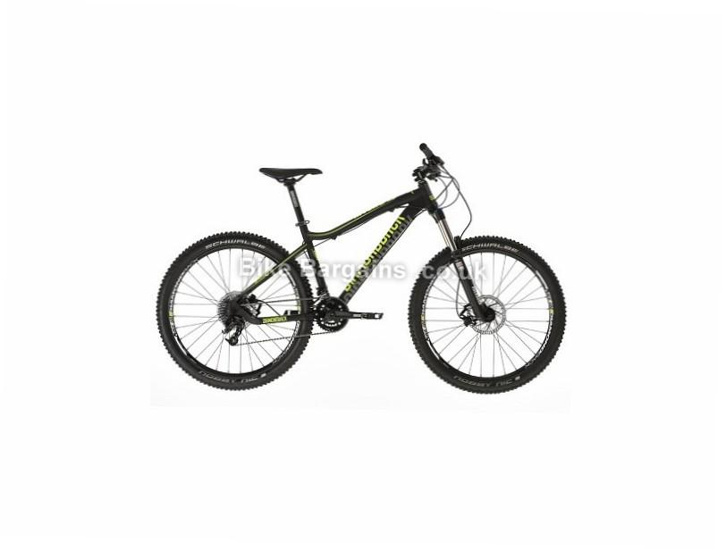 "Diamondback Myers 1.0 27.5"" Alloy Hardtail Mountain Bike 2017 15"", black, green"