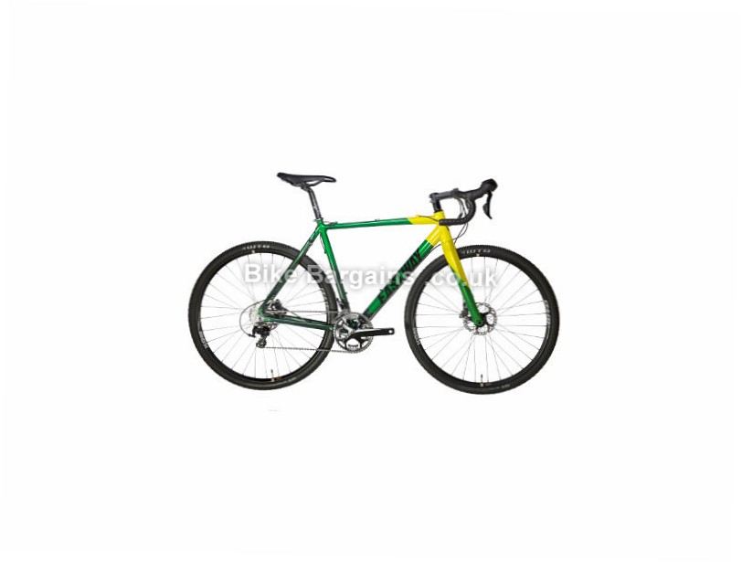 Eastway Balun C2 105 Cyclocross Bike 2017 56cm, Green, Yellow, 700c