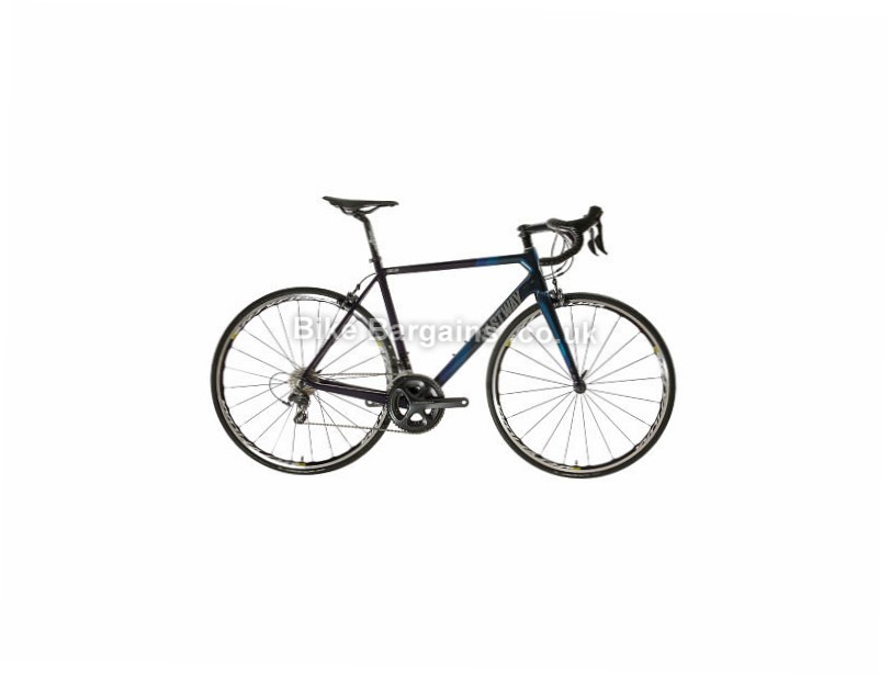 Eastway Emitter R2 Ultegra Road Bike 2017 60cm, Black, Blue, Carbon, 11 speed, Calipers, 700c, 7.8kg