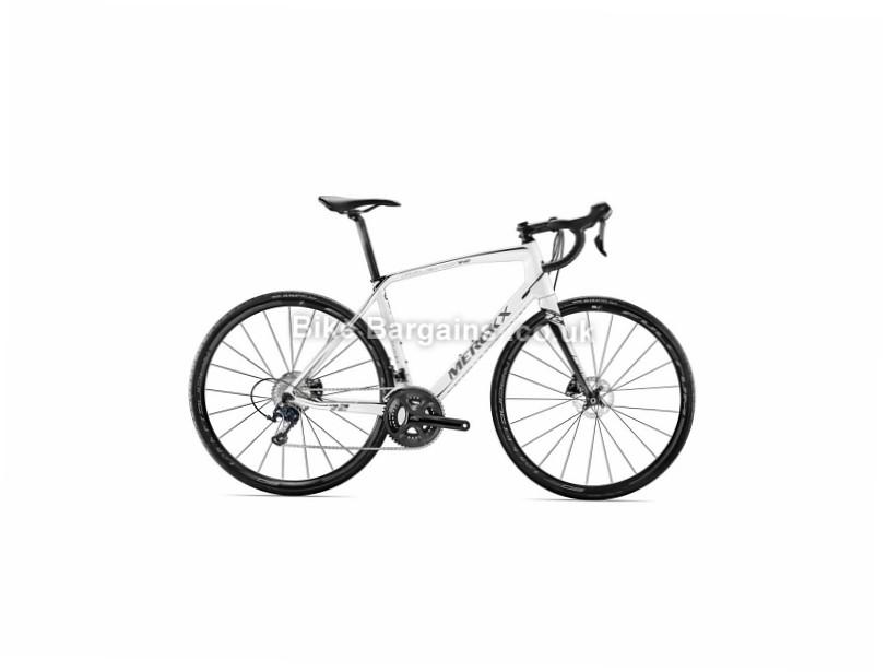 Eddy Merckx Ladies Milano 72 105 Disc Road Bike 2017 XS, Silver, White, Ladies, Carbon, Disc, 11 speed, 700c