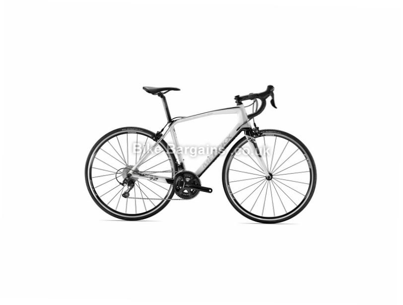 Eddy Merckx Ladies Milano 72 105 Road Bike 2017 S,L, Silver, White, Carbon, 11 speed, Calipers, 700c