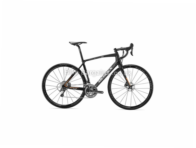 Eddy Merckx Ladies Milano 72 Ultegra Disc Road Bike 2017 M, Black, Ladies, Carbon, Disc, 11 speed, 700c