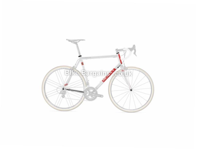 Eddy Merckx Roubaix 70 Steel Road Frame 2016 White, XXS, XXL