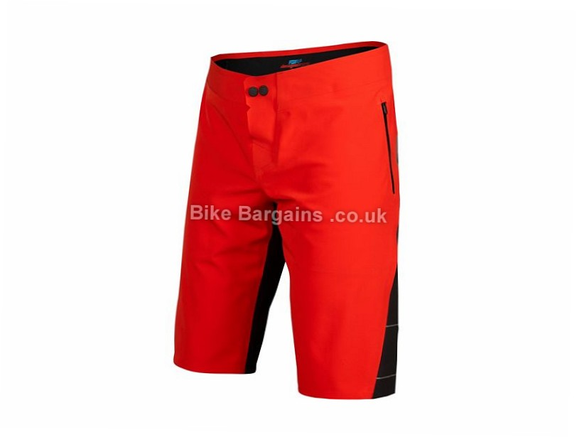 "Fox Racing Downpour Shorts 34"", 36"", 38"", Red, Black"