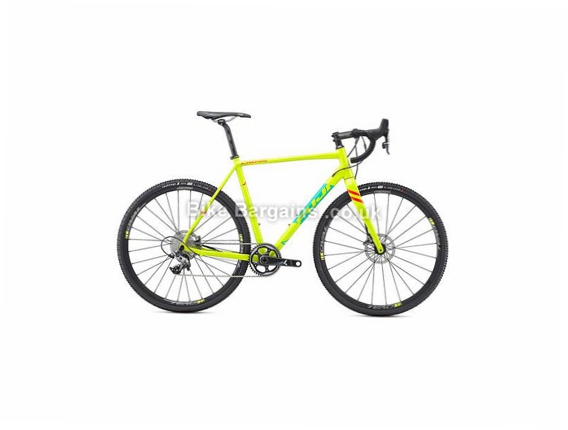 Fuji Cross 1.1 Alloy Cyclocross Bike 2017 52cm, Yellow, Alloy