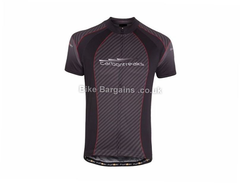 Funkier Pro Short Sleeve Jersey L, XL, Black