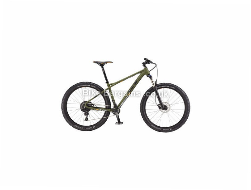 "GT Pantera Elite 29"" Alloy Hardtail Mountain Bike 2017 S, Green"