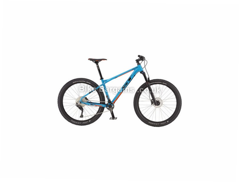 "GT Pantera Expert 27.5"" Alloy Hardtail Mountain Bike 2017 XL, Blue"