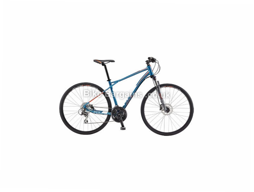 GT Transeo 3.0 Hybrid City Bike 2017 was sold for £350! (Blue, L,)