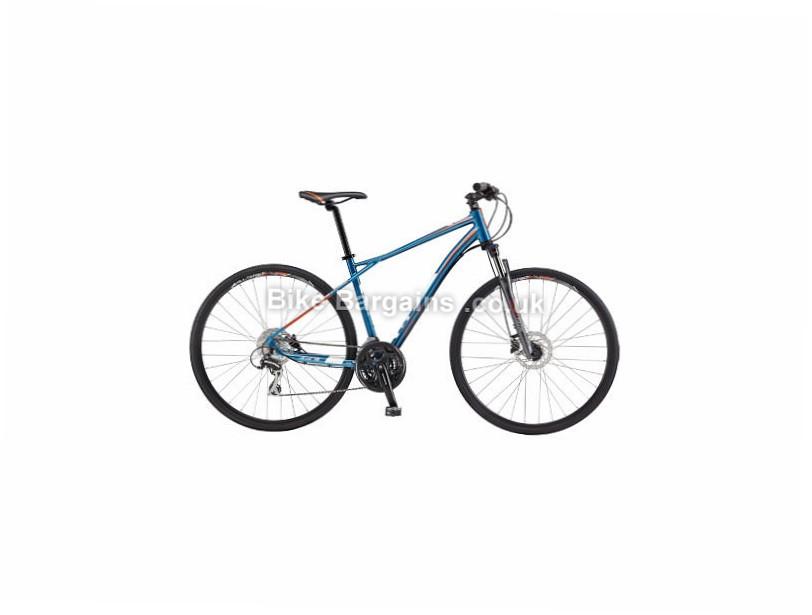 GT Transeo 3.0 Hybrid City Bike 2017 Blue, L,