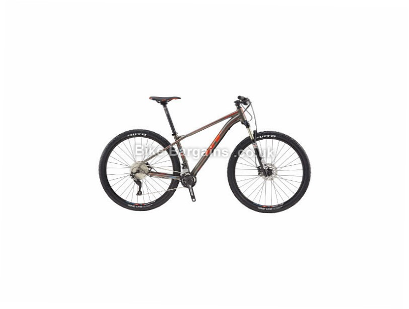 GT Zaskar AL Comp Hardtail Mountain Bike 2017 S, Grey