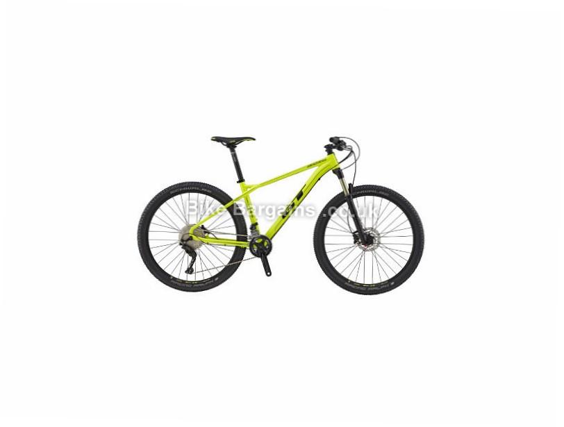 "GT Zaskar AL Elite 27.5"" Alloy Hardtail Mountain Bike 2017 S,L, Yellow"