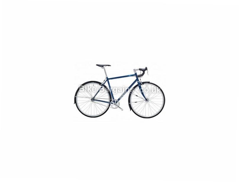 Genesis Flyer Road Bike 2016 S, Blue, Steel, Single Speed, 700c