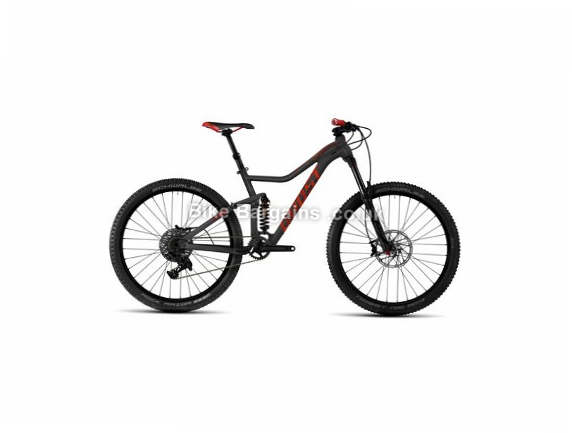 "Ghost DRE AMR X 7 Ladies 27.5"" Alloy Full Suspension Mountain Bike 2017 27.5"", 15"", Grey, Red, 11 Speed, Alloy, 150mm"
