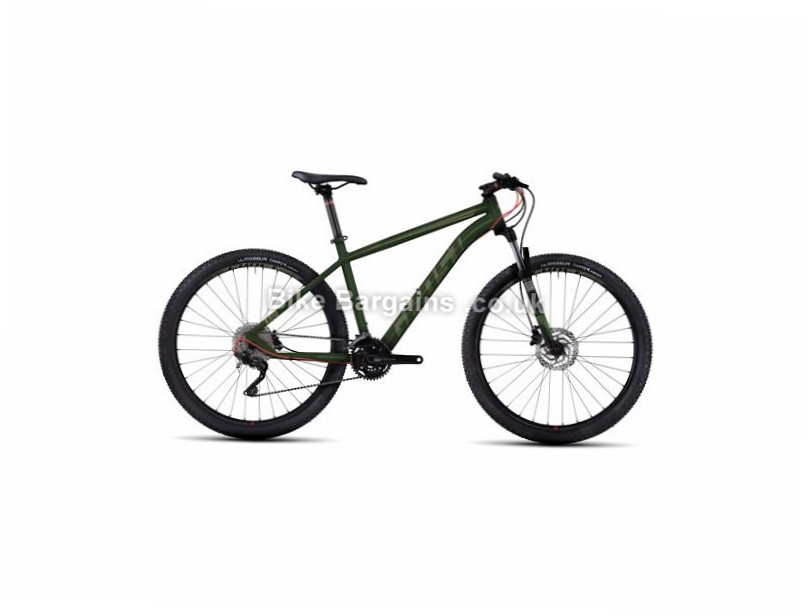 "Ghost Kato 5 27.5"" Hardtail Mountain Bike 2017 27.5"", 18"", Black , Red, 30 Speed, Alloy, 100mm"