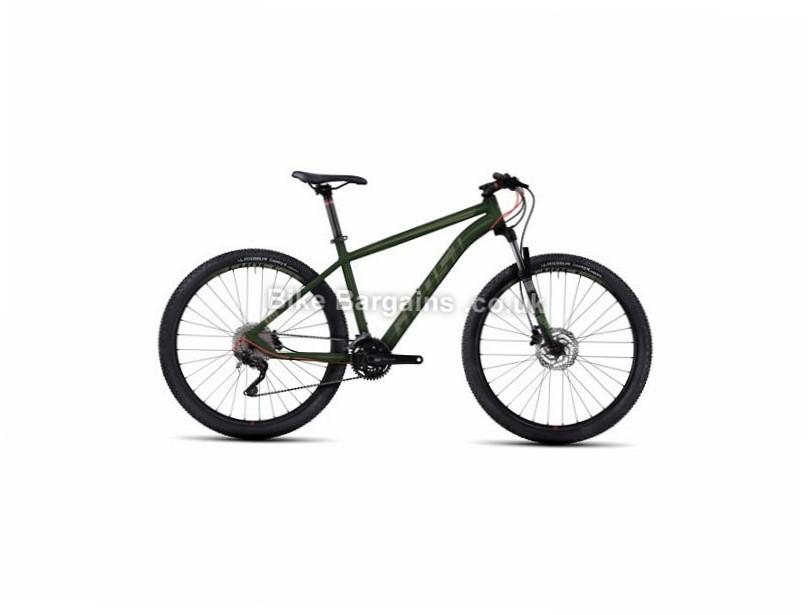 "Ghost Kato 5 27.5"" Hardtail Mountain Bike 2017 27.5"", 18"", Black , Red, 30 Speed, Alloy, 100mm"