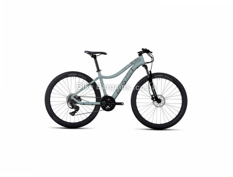 """Ghost Lanao 1 Ladies 27.5"""" Alloy Hardtail Mountain Bike 2017 27.5"""", 15"""", White, Orange,  Blue, Grey, 24 Speed, Alloy, 100mm"""