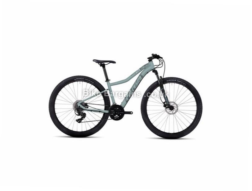 """Ghost Lanao 1 Ladies 29"""" Alloy Hardtail Mountain Bike 2017 29"""", 17"""", Blue, Grey, White, Orange, 24 Speed, Alloy, 100mm"""