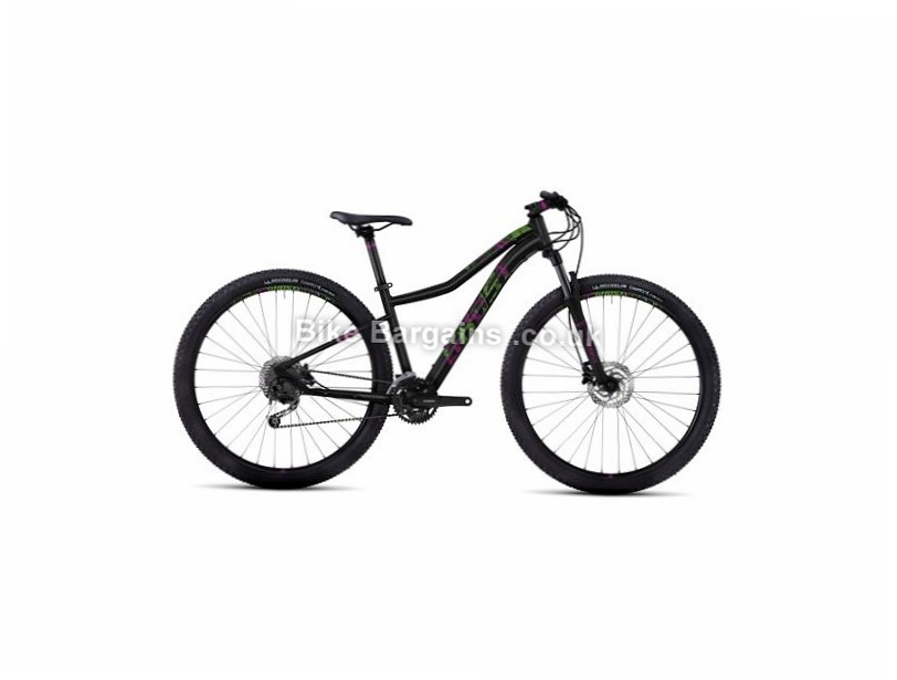 "Ghost Lanao 3 Ladies 29"" Alloy Hardtail Mountain Bike 2017 29"", 15"", Black, Grey, 27 Speed, Alloy, 100mm"