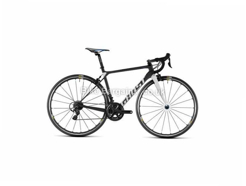 Ghost Nivolet 4 Carbon Road Bike 2017 Silver, Blue, 58cm, 700c, 22 Speed, Carbon