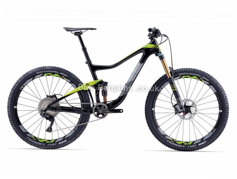 Giant Trance Advanced 1 Full Suspension Mountain Bike 2017 XL, Grey