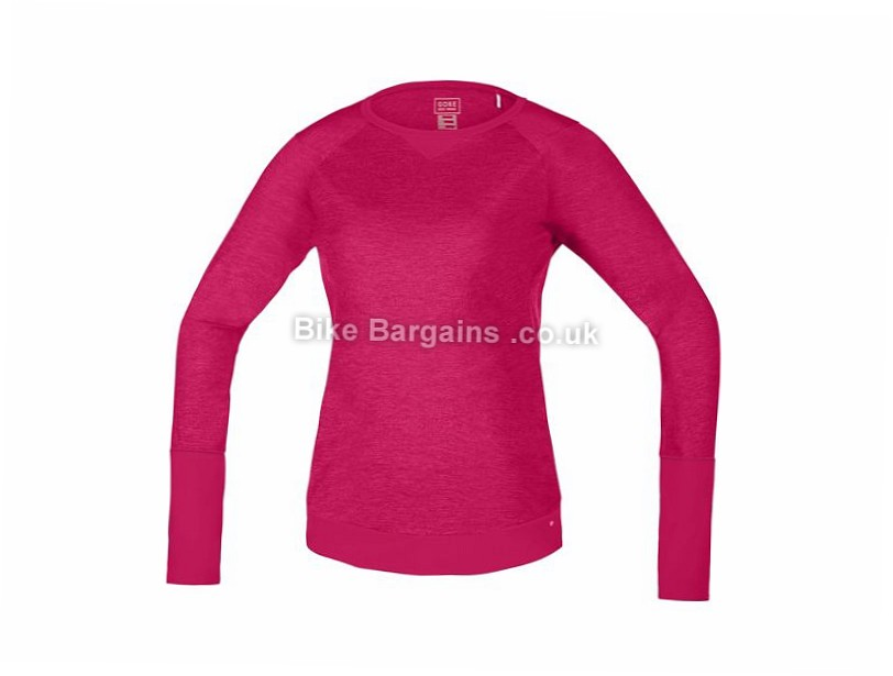 Gore Bike Wear Ladies Power Trail Long Sleeve Jersey XS,S,L, Pink, Brown - some are slightly extra