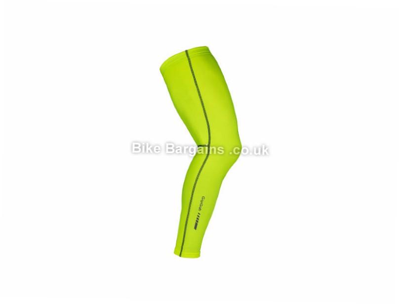 GripGrab Hi Vis Leg Warmers S,Yellow
