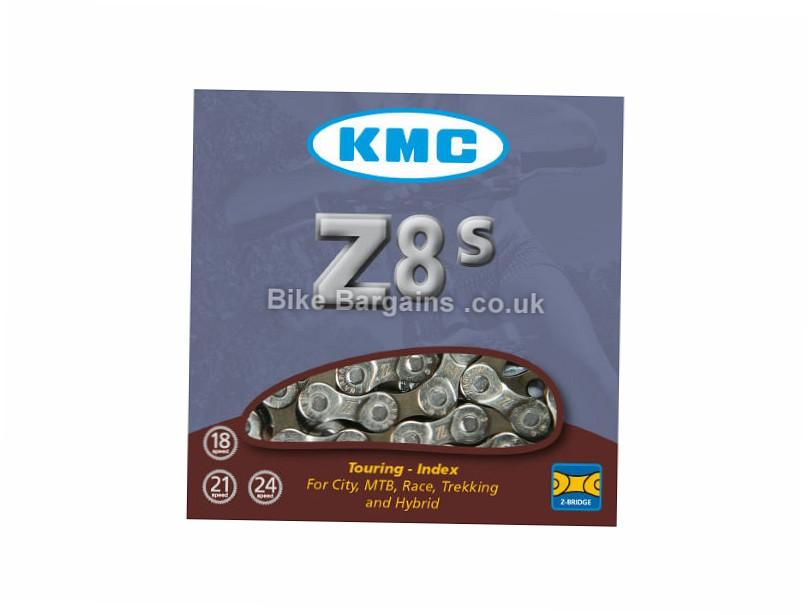 KMC Z8S 8 Speed Chain Silver, 8 Speed, 116 Links