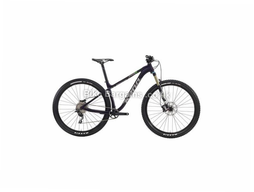 "Kona Honzo AL DL 29"" Alloy Hardtail Mountain Bike 2016 L, Purple"