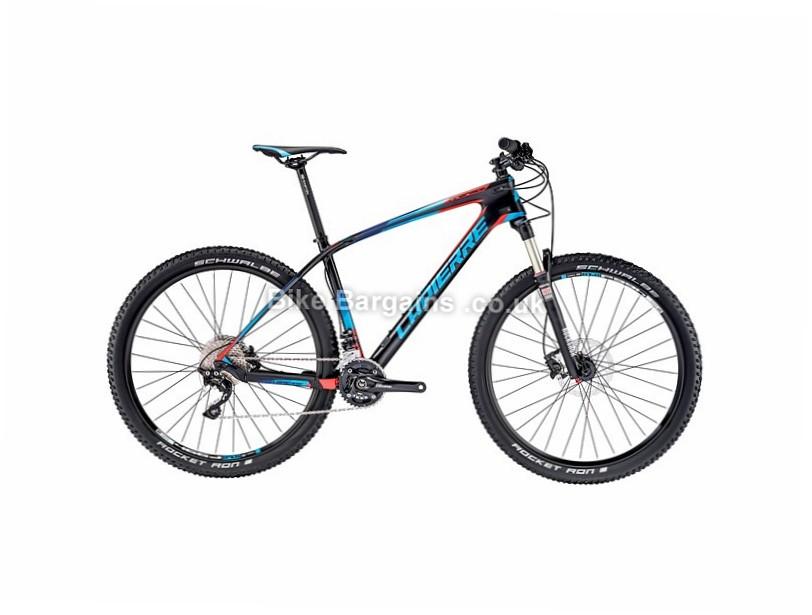 """Lapierre Pro Race 527 27.5"""" Carbon Hardtail Mountain Bike 2016 S, Black, Blue, Red"""
