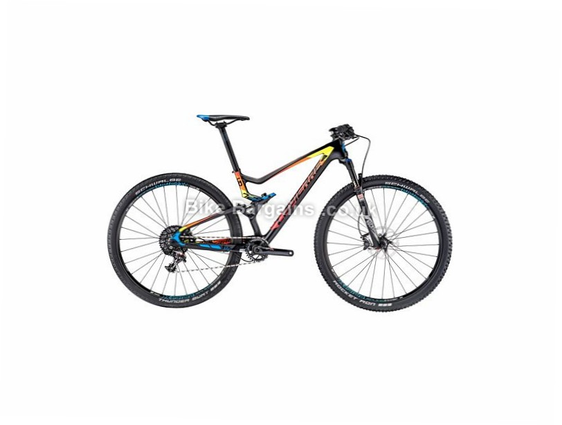"Lapierre XR 7 29"" Carbon Full Suspension Mountain Bike 2016 17"", 29"", Black, Red, Orange"