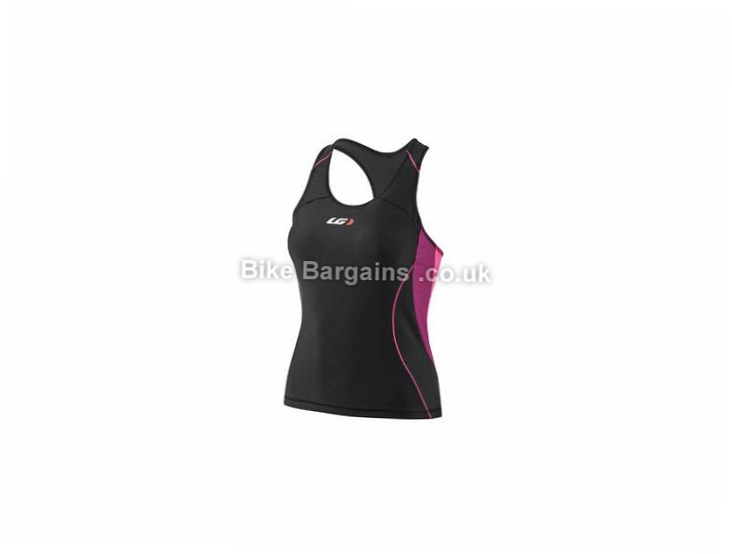 Louis Garneau Ladies Comp Triathlon Tank L,XL, Black