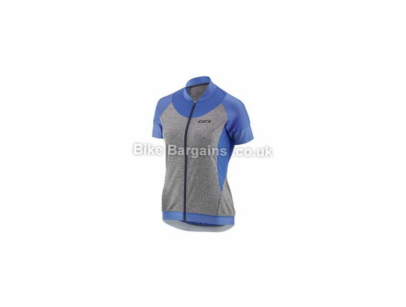 Louis Garneau Ladies Icefit 2 Short Sleeve Jersey S, Grey, Black