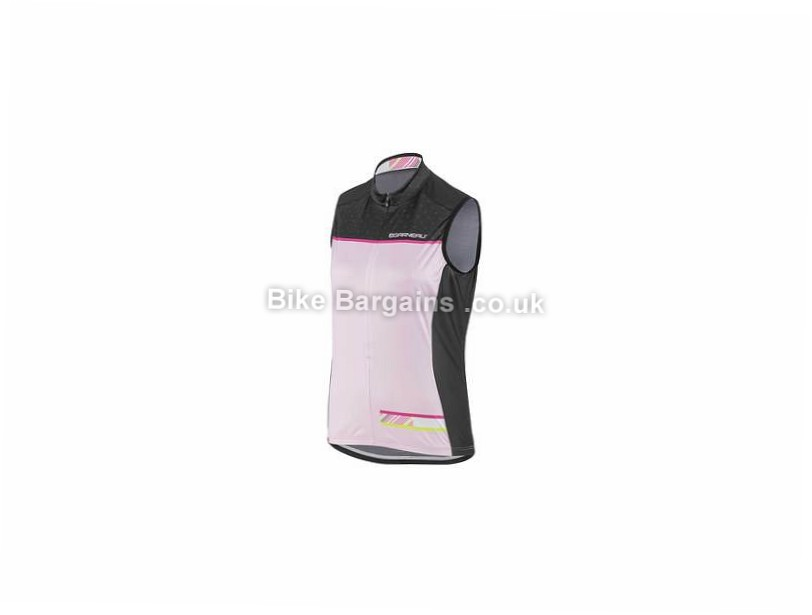 Louis Garneau Ladies Zircon Sleeveless Jersey XS, M, Grey, Pink