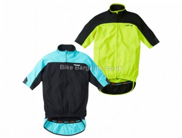 Madison Road Race Optimus Thermal Short Sleeve Jersey XS, Black, Blue, Yellow