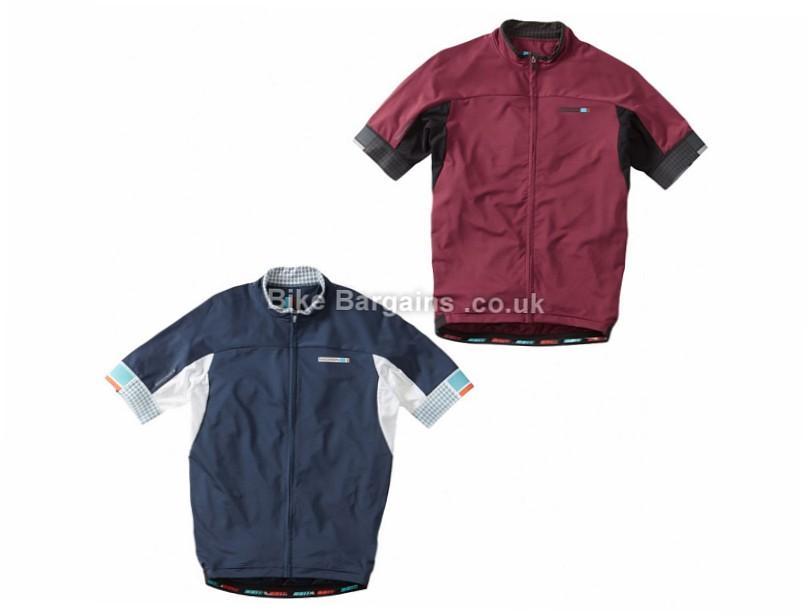 Madison Roadrace Apex Short Sleeve Jersey M, XL, Blue