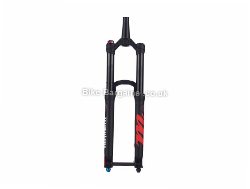 "Manitou Mattoc Pro 2 Mountain Bike Suspension Forks 160mm, 1.1/8"", 1.5"", Tapered, 27.5"", Black"