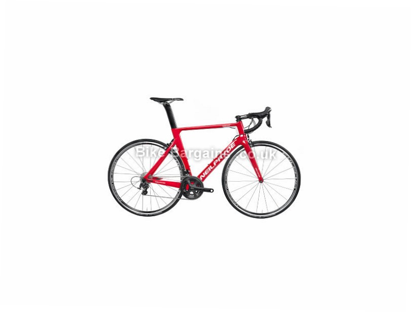 NeilPryde Nazare 105 Road Bike 2017 M, Red, Carbon, 11 speed, Calipers, 700c