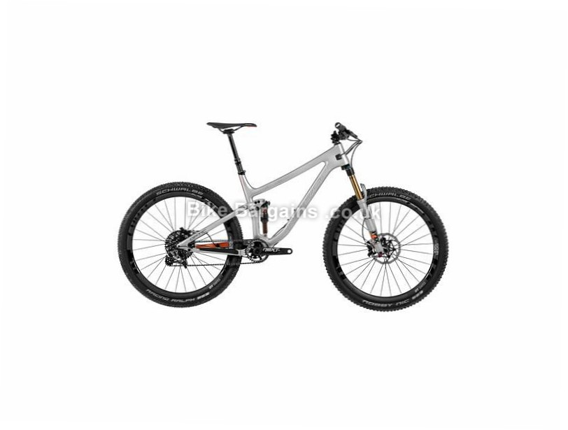 Norco Optic C7.1 Full Suspension Mountain Bike 2017 S, Grey